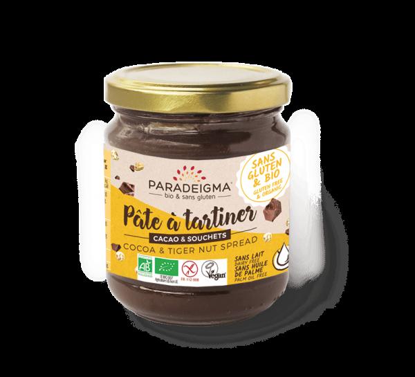 pot de pate à tartiner cacao & souchet paradeigma